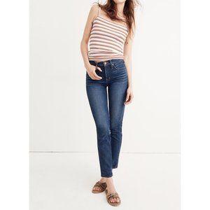 Madewell Slim Straight Blue Jeans William Wash 24